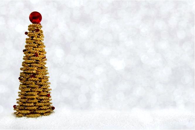 Елка из пасты буравчик! креативное новогоднее украшение, которое удивит ваших гостей