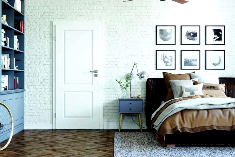 Стена за кроватью в спальне — простые идеи для нее