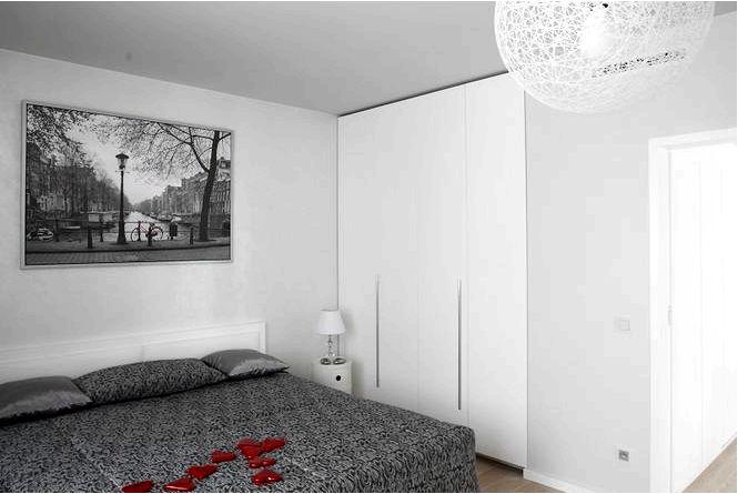 Стена и пол в спальне, как украшать спальное пространство