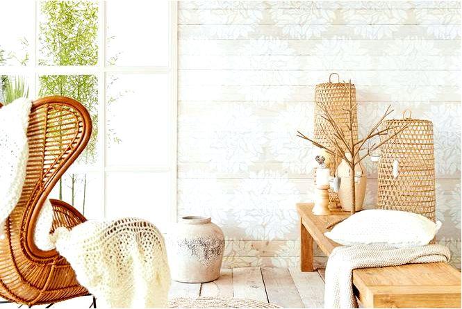Стены в цвете с белой простотой, шикарной и элегантностью! встретиться с белой!