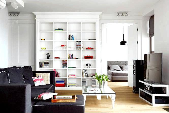 Интересный дизайн интерьера в индустриальном и классическом стиле одновременно!