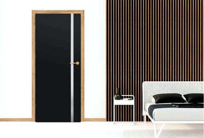 Темный характер двери — создайте неповторимую внутреннюю атмосферу с дверями erkado
