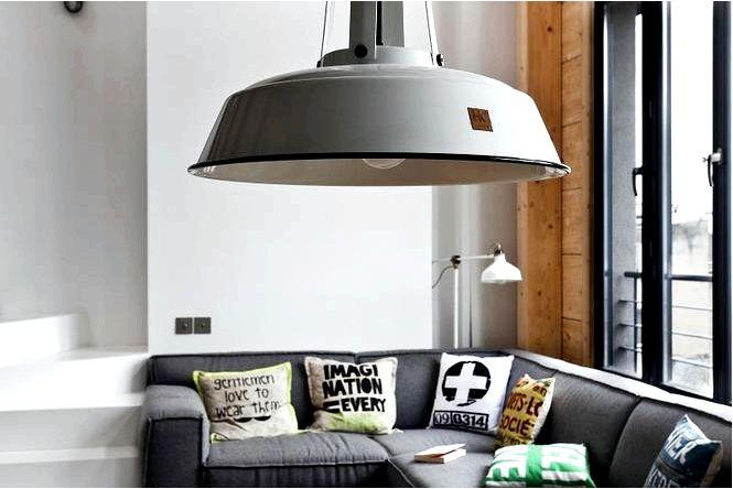 Подходят ли светильники в индустриальном стиле к домашнему интерьеру? посмотреть в нашей галерее!