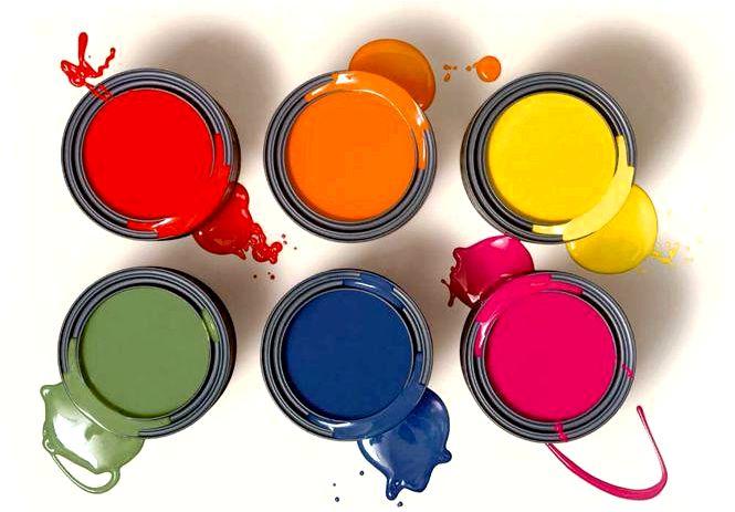 Что покрасить стены и потолки