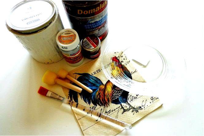 Декупаж на стекле как декорировать стеклянные предметы методом декупаж
