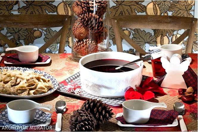 Украшение стола на сочельник в трех стилях как недорогая и красивая сервировка стола к рождеству