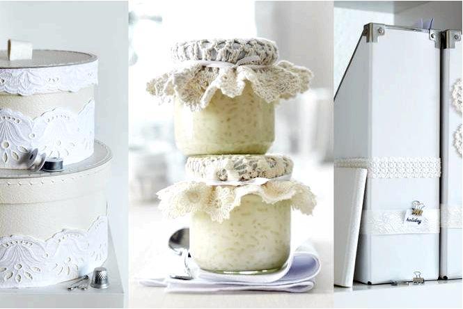 Кружевные украшения 44 идеи кружевных украшений в романтическом стиле