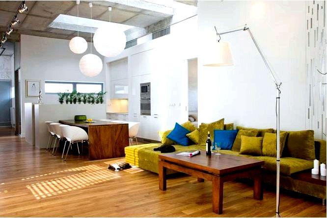 Декораторния 6 идей для хорошо оформленной гостиной с кухней