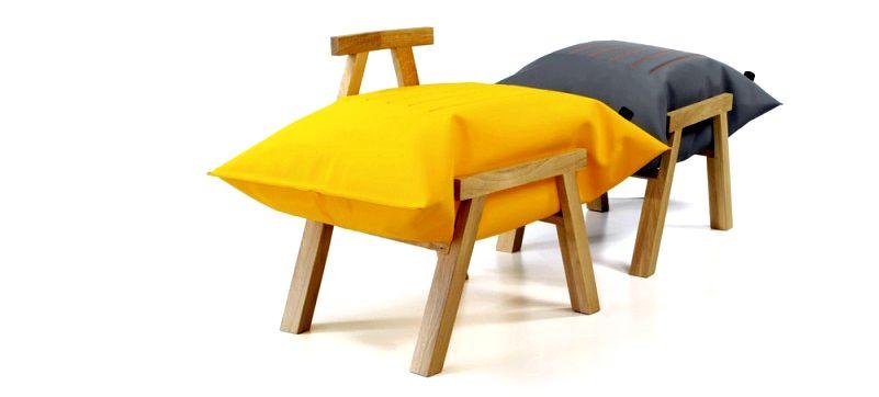 Надувная мебель — будь то внутренняя отделка или функциональная