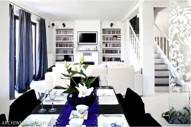 Дом оформлен в гламурном стиле