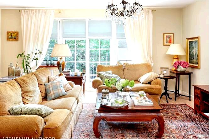 Дом в английском стиле выглядит как английский стиль в интерьере