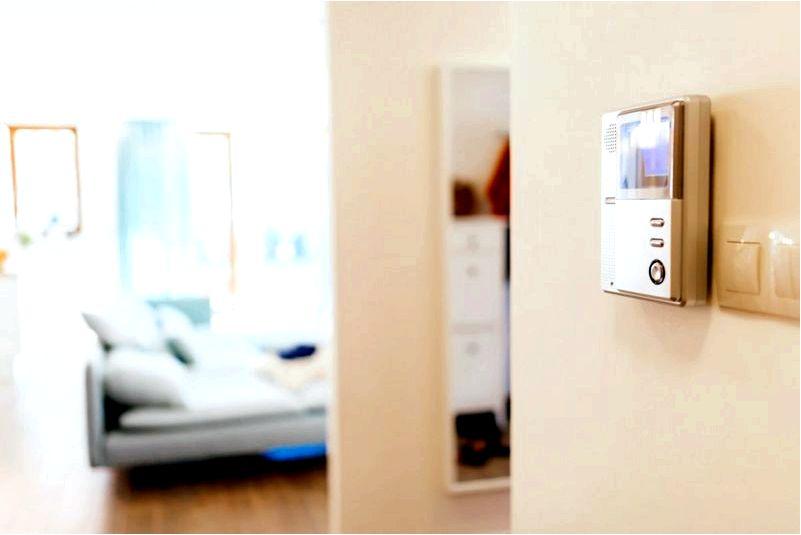 Домофон-важный элемент домашней безопасности-домашний декор