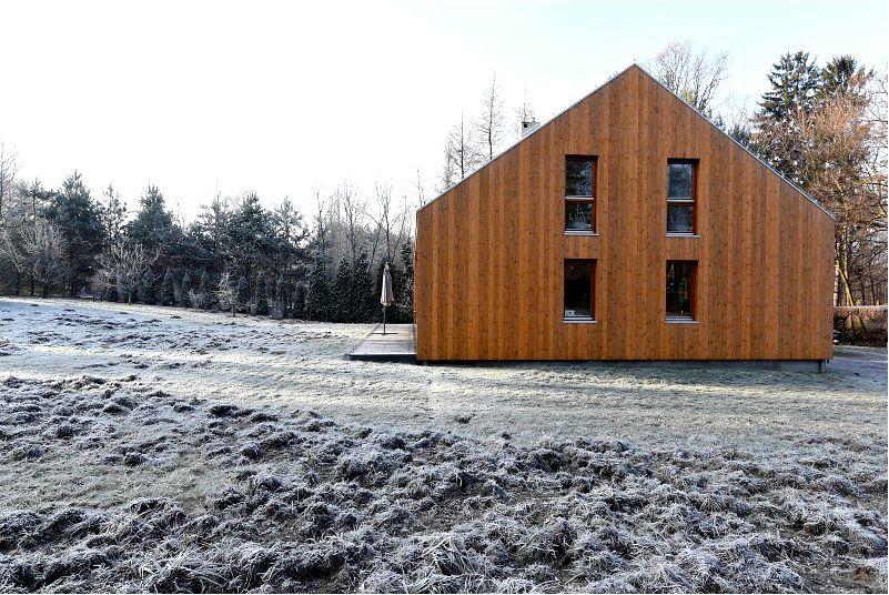 Индивидуальные дома, то есть экологичные-архитектура-вдохновение
