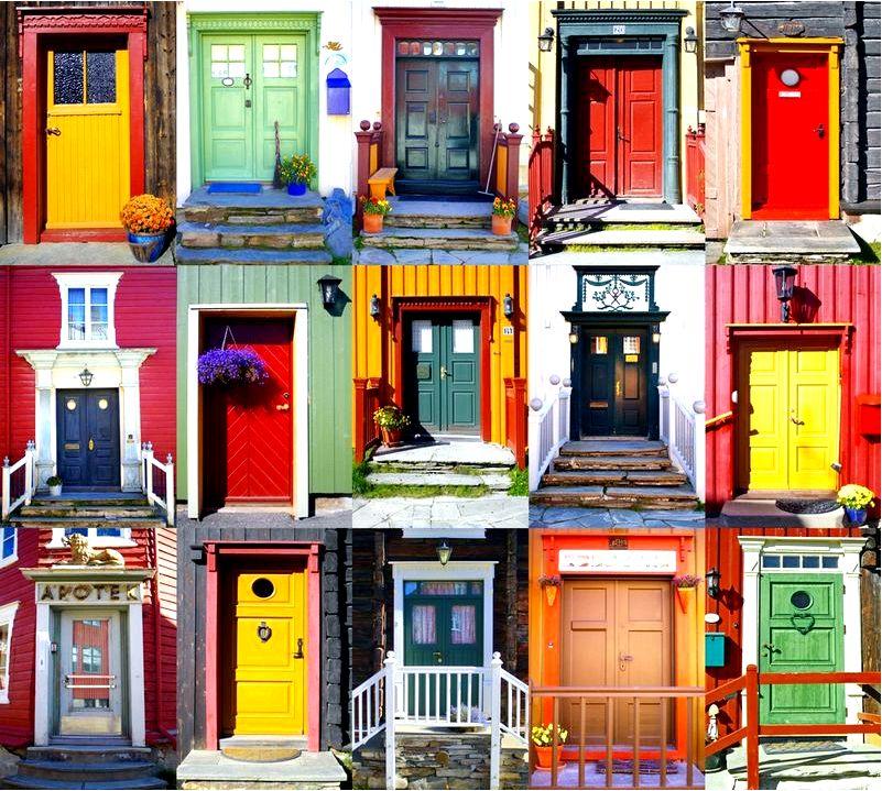 Doortraits, то есть мы просматриваем расположение входа в дом