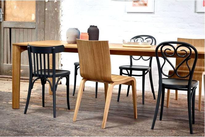 Деревянные стулья — культовый гнутый древесина и современная фанера