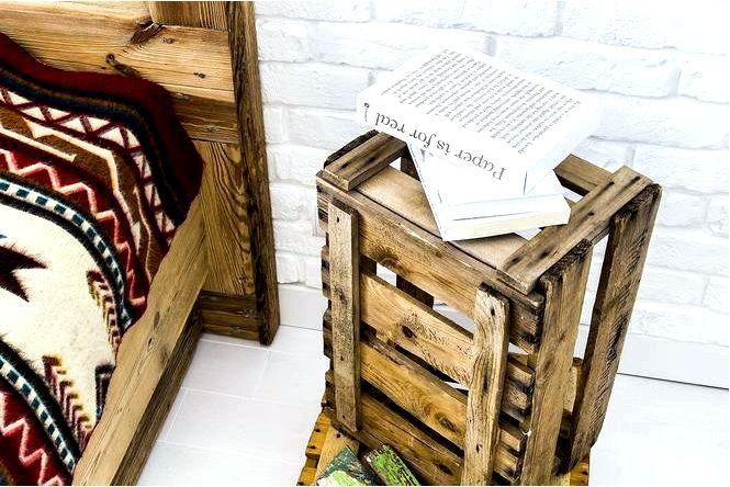 Древесина с восстановлением украшения и мебель из старых досок
