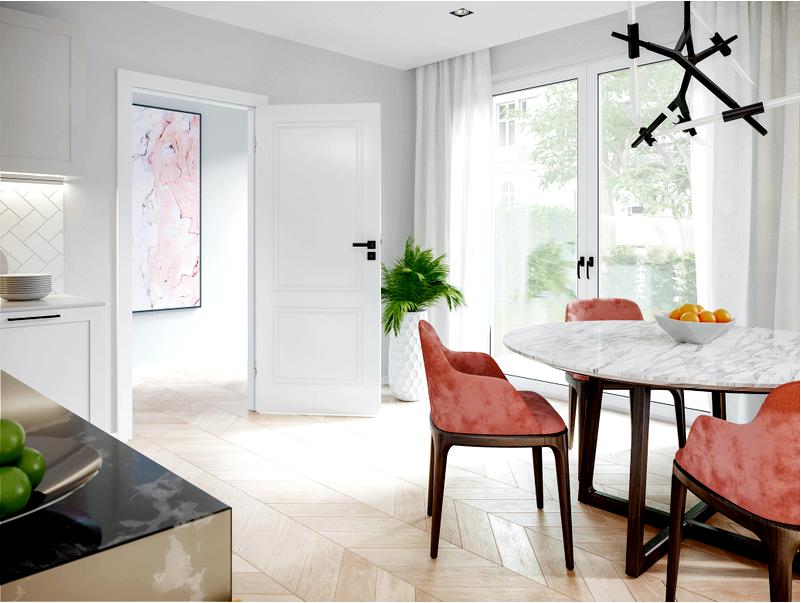 Кухонные двери-функциональное решение или лишнее дополнение