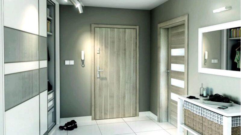 Наружная дверь для квартиры в блоке