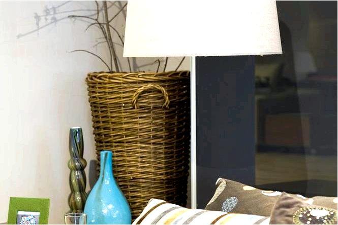 Большое абажурная модное освещение для гостиной — фотографии