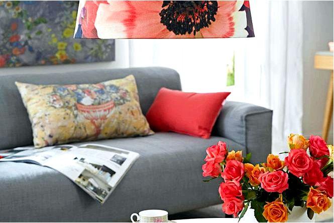 Крупные цветы модные цветочные мотивы, в том числе для балкона!