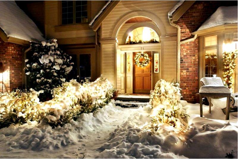 Гламурные рождественские украшения на двери-посмотрите, как это сделать