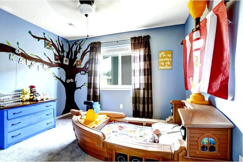 Фантастические идеи для детской комнаты