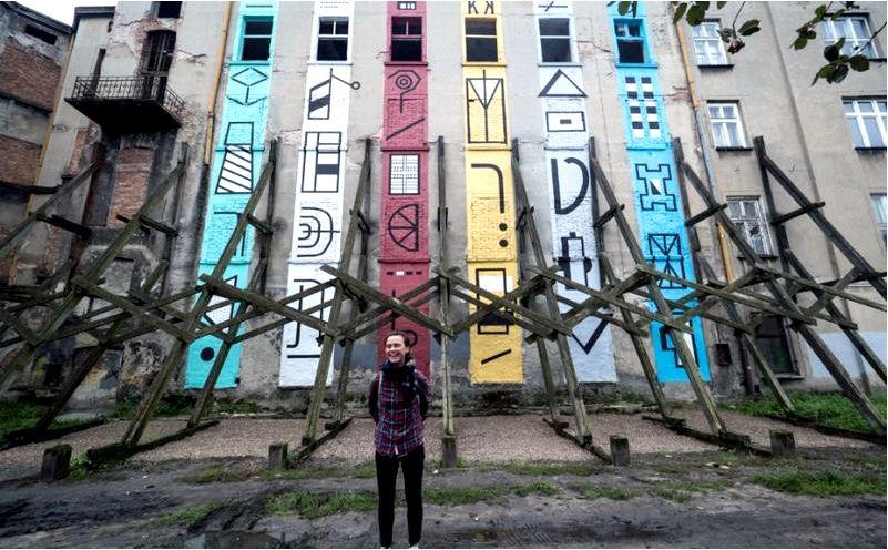 Фестиваль росписей в лодзи — 6 новых работ в городе