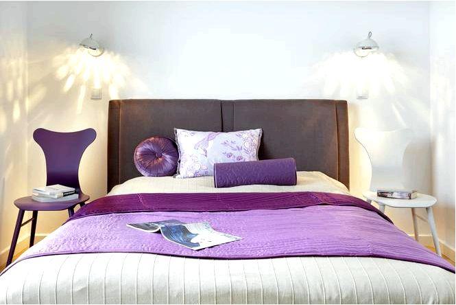 Фиолетовые спальни становятся все более популярными! как украсить фиолетовую спальню. советы и фото