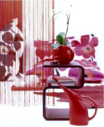 Шторы из макаронных изделий — идея декора окна
