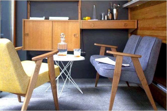 Кресло chierowskiego 366 — польский дизайн прямо из 1960-х