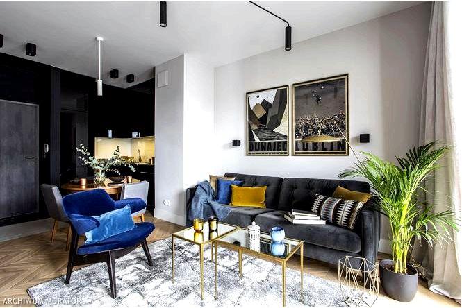 Функциональная квартира-студия с домашней атмосферой, то есть формой и стилем!