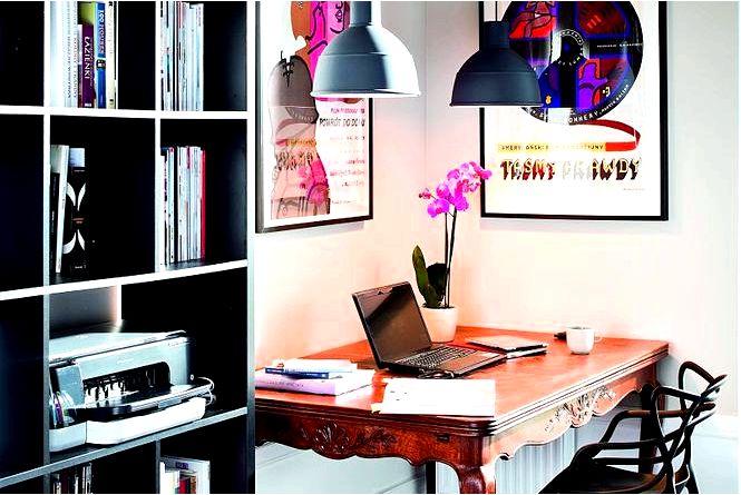 Домашний офис как обустроить место для работы советы, вдохновение, фото