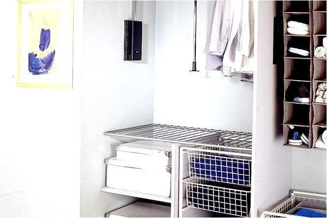 Гардеробные конструкции для функционального гардероба