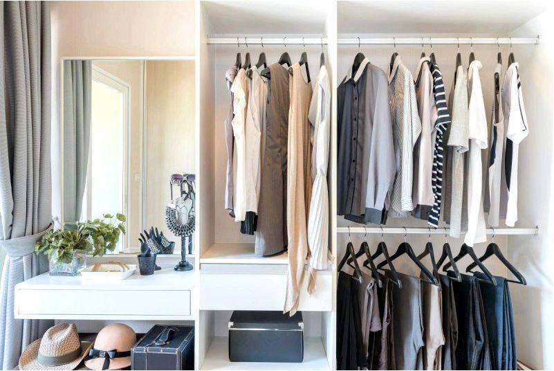 Гардеробная в квартире-идеальный способ привести в порядок квартиру