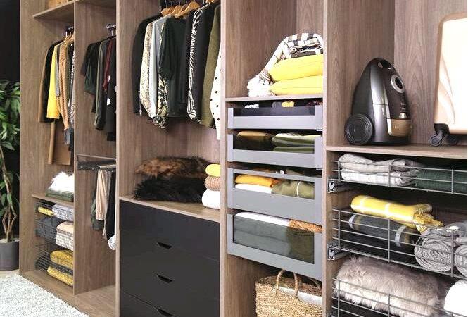 Гардеробная в спальне — три идеи гардероба в маленькой спальне
