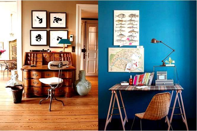 5 Актуальных идей для письменного стола в квартире!