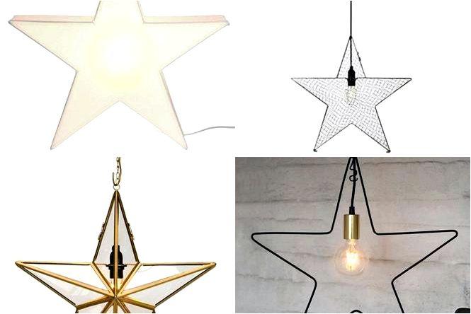Рождественские звезды праздничные украшения, чтобы повесить на окно