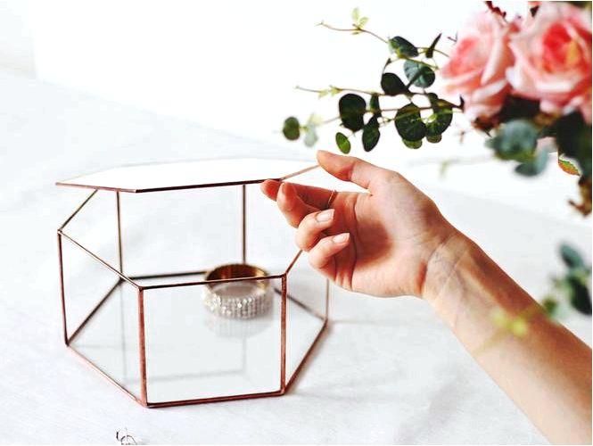 Шестиугольники, или шестиугольники, декоративный мотив сверху