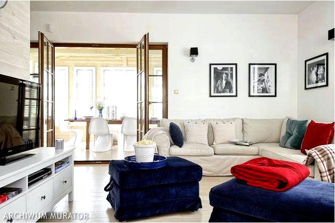 Идеальный дом для спокойного отдыха в морском стиле