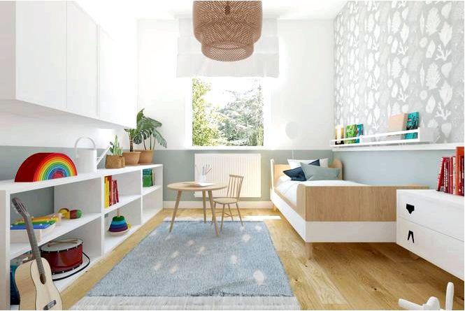 Дизайн детской комнаты ikea