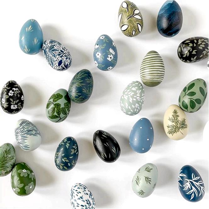 Пасхальные яйца своими руками — вдохновение и идеи