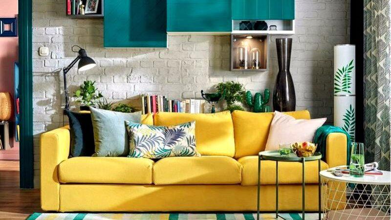 Как сочетать цвета в гостиной проверенные трюки для модного декора