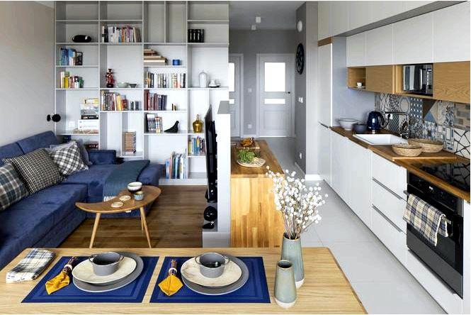 Как сочетать узоры, цвета и разные функции вы найдете вдохновение в этой квартире