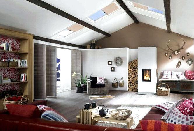 Как подобрать мансардные окна под размер и тип помещения эффективное освещение мансарды