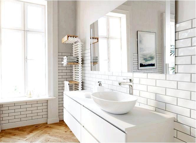 Как облицевать стену в ванной — высота плитки советует архитектор