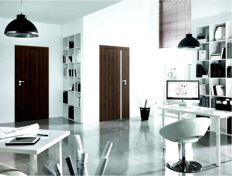 Как украсить домашний офис, какие двери выбрать декор