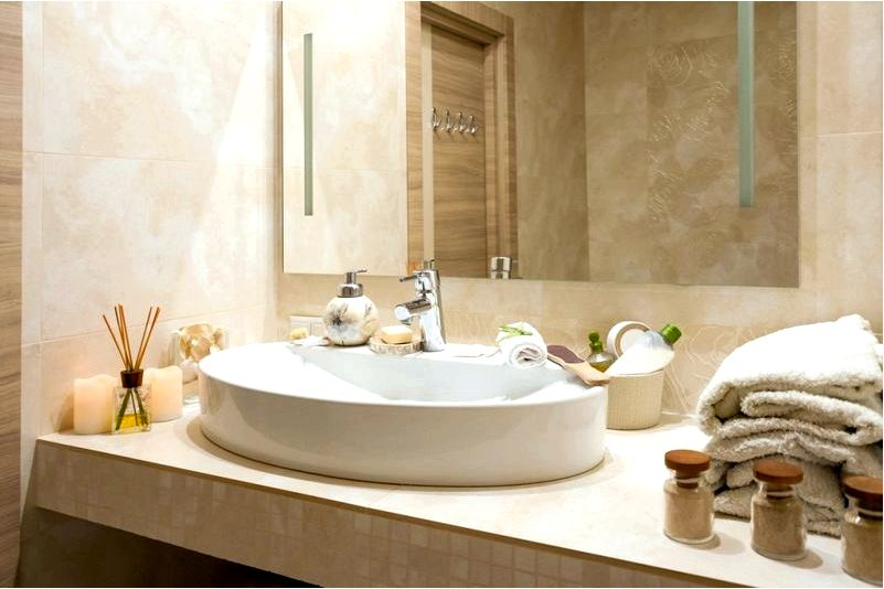 Как украсить недорогой современный декор ванной комнаты