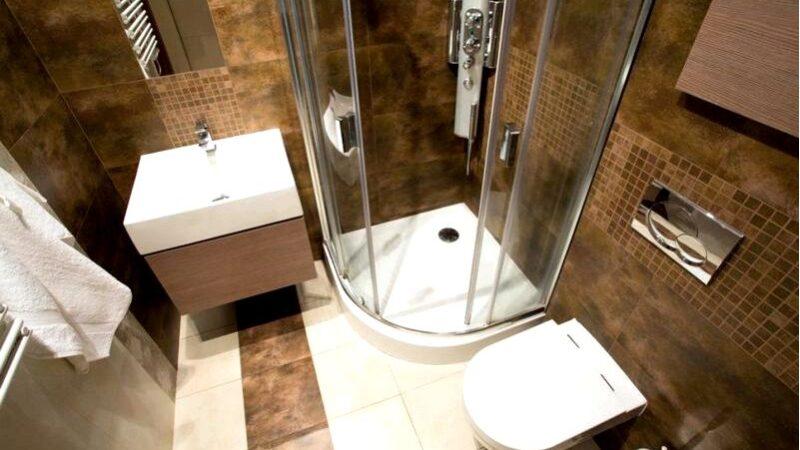 У вас есть небольшая ванная комната увидеть трюки, которые помогут вам сделать его лучше