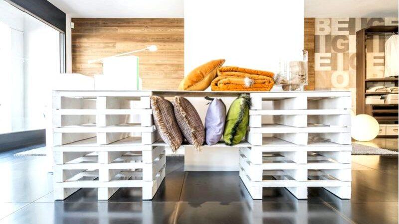 Мебель из поддонов-путь к оригинальному декору в вашем доме