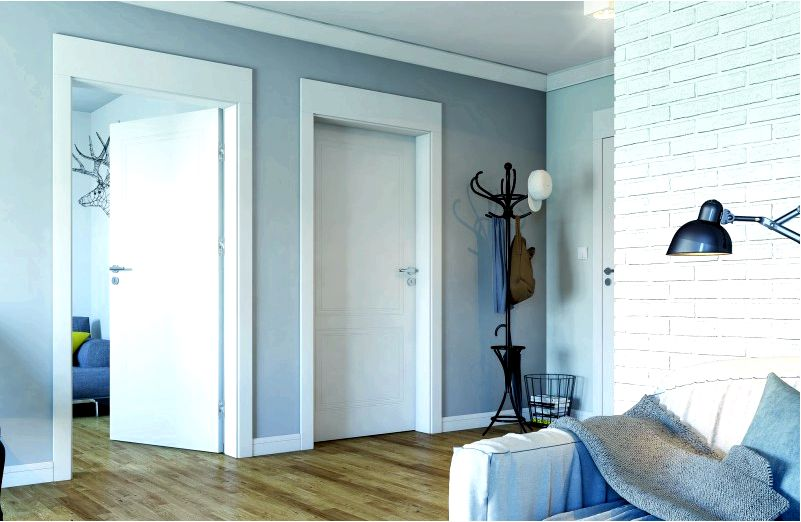 Современный интерьер-какие двери выбрать дизайн интерьера